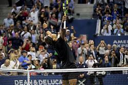 September 10, 2017 - New York, New York, USA - SEP 10, 2017: Rafael Nadal (ESP) wins the Men's Singles Championship match during the 2017 U.S. Open Tennis Championships at the USTA Billie Jean King National Tennis Center in Flushing, Queens, New York, USA. (Credit Image: © David Lobel/EQ Images via ZUMA Press)