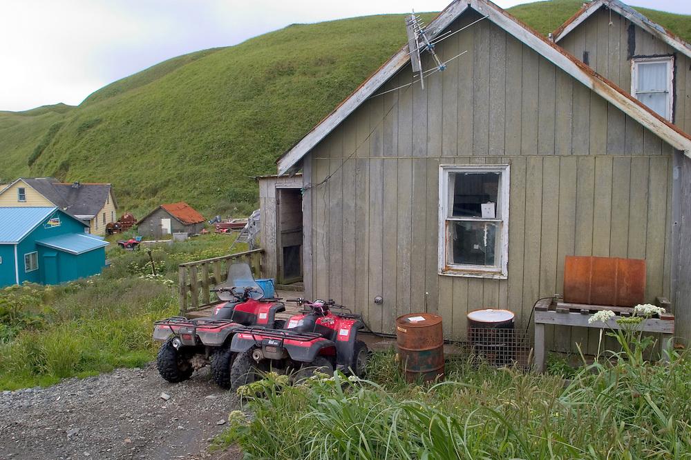 House in Atka, Alaska