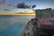 Twilight, Waikiki, Oahu, Hawaii