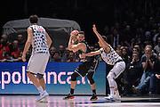 Gabriele Spizzichini<br /> Segafredo Virtus Bologna - Kontatto Fortitudo Bologna<br /> Campionato Basket LNP 2016/2017<br /> Bologna 06/01/2017<br /> Foto Ciamillo-Castoria