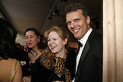 MENNA BOWEN AND JEFFREY O'ROURKE, The 28th Game Conservancy Trust Ball, In association with Barter Card. Battersea Park. 18 May 2006. ONE TIME USE ONLY - DO NOT ARCHIVE  © Copyright Photograph by Dafydd Jones 66 Stockwell Park Rd. London SW9 0DA Tel 020 7733 0108 www.dafjones.com