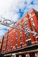 Mulberry Street, Little Italy, New York, New York USA.