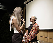 Sophia speaking with journalists in an event organized by Singularity NET in hong kong The first complex AI system realized on theSingularityNETis an AI brain forSophia Hanson— the most sophisticated humanoid robot ever built.<br />This Year Saudi Arabia granted the status of Citizen to Sophia, that became the first robot to be recognized as a citizen.The new version of Sophia's mind, currently under development bySingularityNETin conjunction with Hong Kong firm Hanson Robotics, will be a core node of theblockchain. Her intelligence will be plugged in the network for everyone's benefit and will also receive input and wisdom from everyone's algorithms. Sophia's mind will be constantly fed with new content fromSingularityNET, while at the same time helping to power the network with its human-like intelligence.