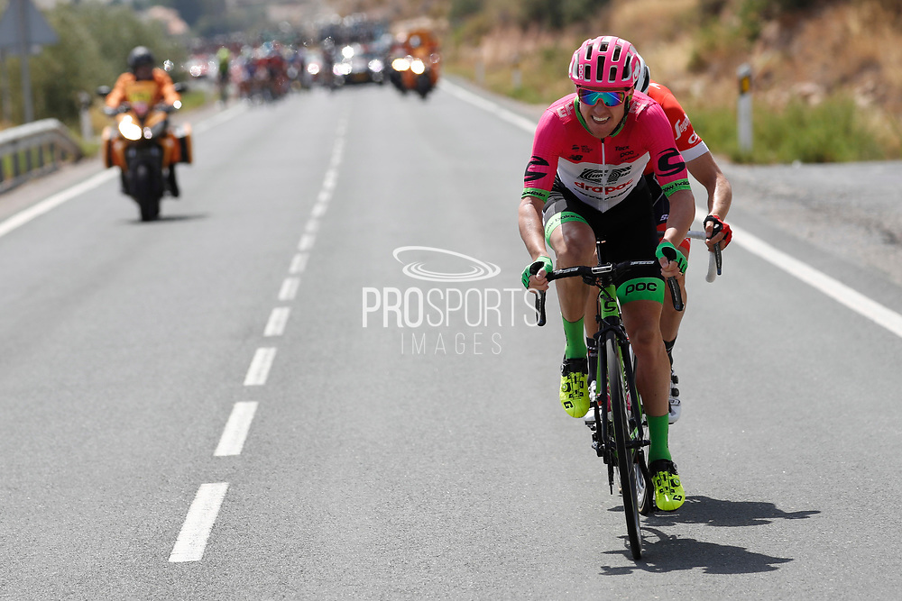 Simon Clarke (AUS - EF Education First - Drapac) during the UCI World Tour, Tour of Spain (Vuelta) 2018, Stage 5, Granada - Roquetas de Mar 188,7 km in Spain, on August 29th, 2018 - Photo Luis Angel Gomez / BettiniPhoto / ProSportsImages / DPPI