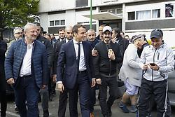April 27, 2017 - Paris, France - Francois Pupponi ( Maire de Sarcelles) / Emmanuel Macron (Credit Image: © Panoramic via ZUMA Press)