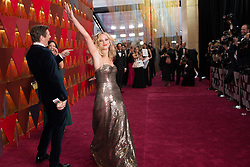 March 4, 2018 - Hollywood, California, U.S. - JENNIFER LAWRENCE arrives on the red carpet of The 90th Oscars at the Dolby Theatre in Hollywood. (Credit Image: © Sara Wood/AMPAS via ZUMA Wire/ZUMAPRESS.com)