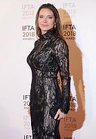 Hannah Beth King at the IFTA Film & Drama Awards (The Irish Film & Television Academy) at the Mansion House in Dublin, Ireland, Thursday 15th February 2018. Photographer: Doreen Kennedy