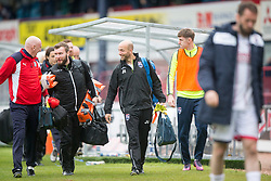 Ross County's bench. Dundee 1 v 1 Ross County, SPFL Ladbrokes Premiership played 13/5/2017 at Dens Park.