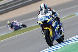01.05.2010, Motomondiale, Jerez de la Frontera, ESP, MotoGP, Race, im Bild Raffaele De Rosa - Tech 3 racing. EXPA Pictures © 2010, PhotoCredit: EXPA/ InsideFoto / SPORTIDA PHOTO AGENCY