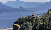 Vista House observatory on the Historic Columbia River Highway. (Steve Ringman / The Seattle Times)