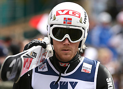 Bjoern Einar Romoeren (NOR) at Qualification's 1st day of 32nd World Cup Competition of FIS World Cup Ski Jumping Final in Planica, Slovenia, on March 19, 2009. (Photo by Vid Ponikvar / Sportida)