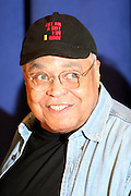 """James Earl Jones,  at """" Cat on a Hot Tin Roof """" Press conference announcing limited broadway run,  at Broad Hurst Theater on January 8, 2008 in New York City"""