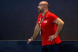 Ivica Tucak of Croatia in action during the Olympic qualifying tournament. The Dutch water polo players are on the hunt for a starting ticket for the Olympic Games on February 15, 2021 in Rotterdam