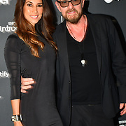 Billy Duffy and Leilani Dowding arrivers at AIM Independent Music Awards at the Roundhouse on 3 September 2019, Camden Town, London, UK.