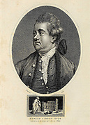 Edward Gibbon FRS (8 May 1737 – 16 January 1794) was an English historian, writer, and Member of Parliament. His most important work, The History of the Decline and Fall of the Roman Empire, published in six volumes between 1776 and 1788, is known for the quality and irony of its prose, its use of primary sources, and its polemical criticism of organised religion. Copperplate engraving From the Encyclopaedia Londinensis or, Universal dictionary of arts, sciences, and literature; Volume VIII;  Edited by Wilkes, John. Published in London in 1810.