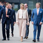 LUX/Luxembug/2 Maxima0180524 - Staatbezoek Luxemburg 2018 dag 2, Willem-Alexander en Maxima