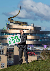 Scottish Greens Election Launch, Edinburgh, 16 March 2021 <br /> <br /> Pictured: Alison Johnstone and Patrick Harvie of the Scottish Green Party launch their campaign for the Scottish Parliamentary elections on Calton Hill in Edinburgh<br /> (c) Richard Dyson | EdinburghElitemedia.co.uk 2021