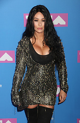 August 20, 2018 - New York City, New York, U.S. - JENNI FARLEY also known as JWOWW attends the arrivals for the 2018 MTV 'VMAS' held at Radio City Music Hall. (Credit Image: © Nancy Kaszerman via ZUMA Wire)