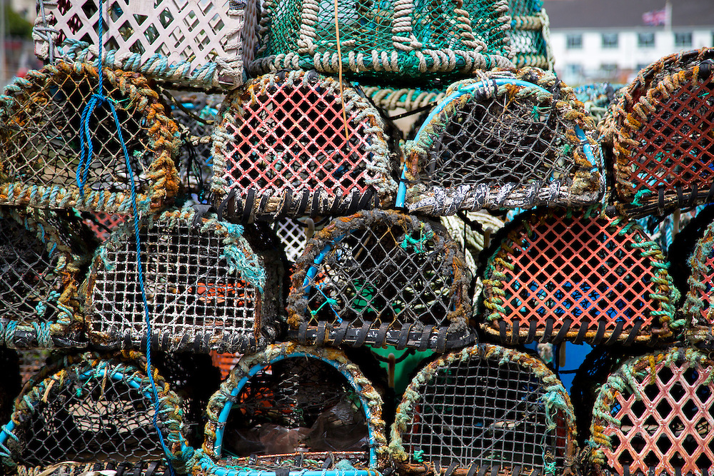 Lobster Pots Stacked