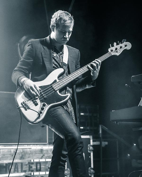 Daniel Kristjansson of Icelandic blues-rock band Kaleo at Stadthalle Offenbach