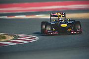 February 21, 2012: Formula One Testing, Circuit de Catalunya, Barcelona, Spain. Sebastian Vettel Red Bull-Renault RB8