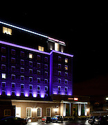 Greenwhich Mercure Hotel, London. Night. ACDC lighting LED.