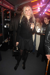 ALEXANDRA AITKEN at a Winter Party to celebrate the opening of the Ice Rink at Somerset House, London in association with jewellers Tiffany on 20th November 2007.<br /><br />NON EXCLUSIVE - WORLD RIGHTS