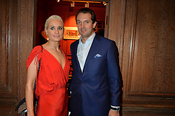 ***UK_MAGAZINES_OUT***<br /> LONDON, ENGLAND 30 NOVEMBER 2016: <br /> Left to right, Kalita al Swaidi, Ash Grifiths at the launch of In The Spirit of Gstaad at Maison Assouline, Piccadilly, London hosted by Mandolyna Theodoracopulos and Homera Sahni England. 30 November 2016.