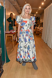 Mimi Wade at a dinner to celebrate the collaboration of jewellers Tada & Toy with Lady Amelia Windsor held at Reformation, 186 Westbourne Grove, London.<br /> <br /> Photo by Dominic O'Neill/Desmond O'Neill Features Ltd.  +44(0)1306 731608  www.donfeatures.com