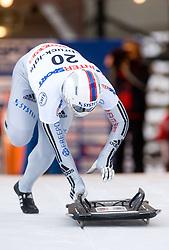 Kazuhiro Koshi of Japan competes during 1st Run of FIBT Bob & Skeleton World Cup Innsbruck-Igls race on January 23, 2009 in Igls, Innsbruck, Austria. (Photo by Vid Ponikvar / Sportida)