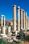 TURKEY, GREEK AND ROMAN Aphrodisias; Temple of Aphrodite columns