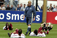 Fotball<br /> Nederland 2003/2004<br /> 07.07.2003<br /> Ajax første treningsøkt<br /> Ronald Koeman<br /> Foto: Jasper Ruhe, Digitalsport