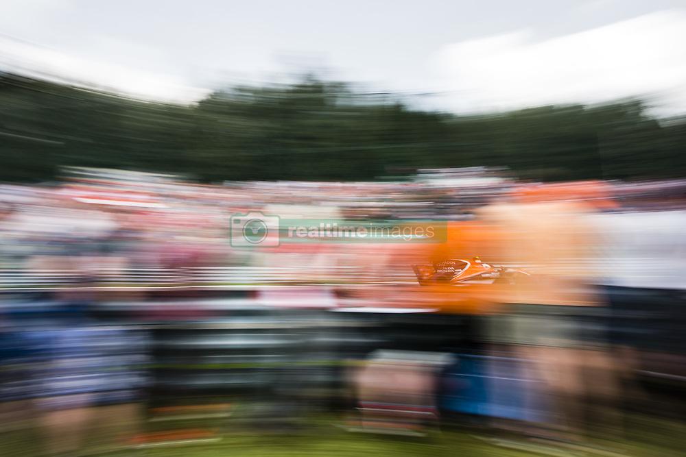 August 27, 2017 - Spa, Belgium - 02 VANDOORNE Stoffel from Belgium of McLaren Honda during the Formula One Belgian Grand Prix at Circuit de Spa-Francorchamps on August 27, 2017 in Spa, Belgium. (Credit Image: © Xavier Bonilla/NurPhoto via ZUMA Press)