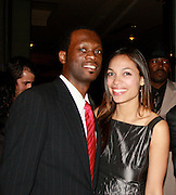 **EXCLUSIVE**.Pras Michel and Rosario Dawson..Pras Michel of The Fugees Honoring The First Ladies of Africa at a Cocktail Reception in partnership US Doctors For AFRICA..WP Wolfgang Puck Restaurant..Pacific Design Center..West Hollywood, CA, USA..Monday, April 20, 2009..Photo By Celebrityvibe.com.To license this image please call (212) 410 5354; or Email: celebrityvibe@gmail.com ; .website: www.celebrityvibe.com.