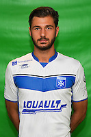 Stephane Sparagna of Auxerre during Auxerre squad photo call for the 2016-2017 Ligue 2 season on September, 7 2016 in Auxerre, France ( Photo by Andre Ferreira / Icon Sport )