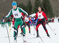 St Paul's School Nordic Sprints.  ©2019 Karen Bobotas Photographer