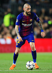 Aleix Vidal of Barcelona - Mandatory by-line: Matt McNulty/JMP - 14/03/2018 - FOOTBALL - Camp Nou - Barcelona, Catalonia - Barcelona v Chelsea - UEFA Champions League - Round of 16 Second Leg
