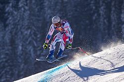 22.01.2019, Streif, Kitzbühel, AUT, FIS Weltcup Ski Alpin, Abfahrt, Herren, 1. Training, im Bild Matthieu Bailet (FRA) // Matthieu Bailet of France during the 1st Training of mens downhill of FIS Ski Alpine Worldcup at the Streif in Kitzbühel, Austria on 2019/01/22. EXPA Pictures © 2019, PhotoCredit: EXPA/ Johann Groder