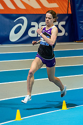 Britt Ummels in action on the 800 meter during AA Drink Dutch Athletics Championship Indoor on 21 February 2021 in Apeldoorn.