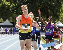 adidas Grand Prix Diamond League Track & Field: mens 5000m, Ben True, USA, Saucony