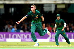 Stuart Broad of Nottinghamshire bowls in the Royal London One-Day Cup Final at Lords - Mandatory by-line: Robbie Stephenson/JMP - 01/07/2017 - CRICKET - Lord's Cricket Ground - London, United Kingdom - Nottinghamshire v Surrey - Royal London One-Day Cup Final 2017
