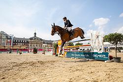 SCHLÜSSELBURG Sven (GER), Chetaro R<br /> Münster - Turnier der Sieger 2019<br /> Preis des EINRICHTUNGSHAUS OSTERMANN, WITTEN<br /> CSI4* - Int. Jumping competition  (1.45 m) - <br /> 1. Qualifikation Mittlere Tour<br /> Medium Tour<br /> 02. August 2019<br /> © www.sportfotos-lafrentz.de/Stefan Lafrentz