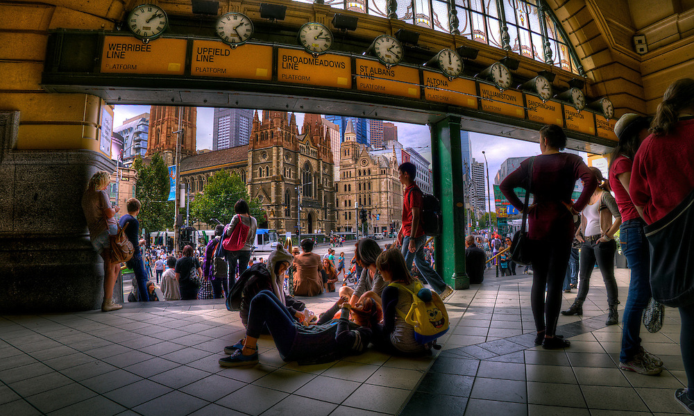 Flinders Street Station, inside under the clocks. Melbourne in HDR (High Dynamic Range), for The Age iPad App. Pic By Craig Sillitoe CSZ/The Sunday Age 29/5/2011 melbourne photographers, commercial photographers, industrial photographers, corporate photographer, architectural photographers, This photograph can be used for non commercial uses with attribution. Credit: Craig Sillitoe Photography / http://www.csillitoe.com<br /> <br /> It is protected under the Creative Commons Attribution-NonCommercial-ShareAlike 4.0 International License. To view a copy of this license, visit http://creativecommons.org/licenses/by-nc-sa/4.0/. This photograph can be used for non commercial uses with attribution. Credit: Craig Sillitoe Photography / http://www.csillitoe.com<br /> <br /> It is protected under the Creative Commons Attribution-NonCommercial-ShareAlike 4.0 International License. To view a copy of this license, visit http://creativecommons.org/licenses/by-nc-sa/4.0/. This photograph can be used for non commercial uses with attribution. Credit: Craig Sillitoe Photography / http://www.csillitoe.com<br /> <br /> It is protected under the Creative Commons Attribution-NonCommercial-ShareAlike 4.0 International License. To view a copy of this license, visit http://creativecommons.org/licenses/by-nc-sa/4.0/.