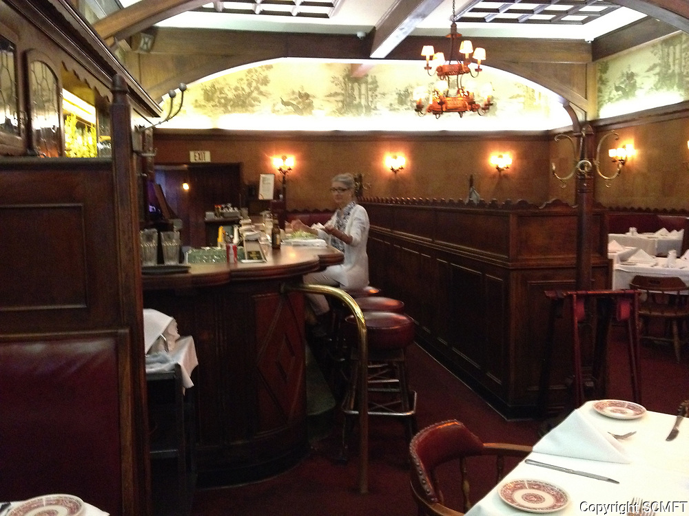 2013 Bar interior of Musso & Frank Grill