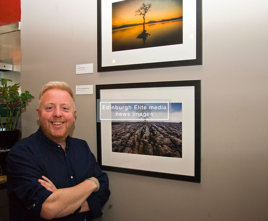 Pictured: Richard Dyson<br /> <br /> Richard Dyson welcomed guests to his exhibition of photographs from Scotland, Iceland and Japan with a minimalistic interpretation. Landscapes, seascapes and nature presented with an eye that gives a sense of place.<br /> <br /> Ger Harley | EEm 13 April 2017