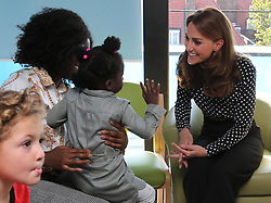 The Duchess of Cambridge visits the Sunshine House Children and Young People's Health and Development Centre, in Peckham, London, UK, on the 19th September 2019. Picture by Ian Vogler/WPA-Pool. 19 Sep 2019 Pictured: Catherine, Duchess of Cambridge, Kate Middleton. Photo credit: MEGA TheMegaAgency.com +1 888 505 6342