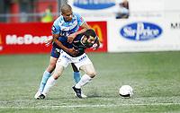 Fotball 16. juli 2012  , Tippeligaen , Eliteserien<br /> Strømsgodset - SandnesvUlf<br /> Kamal Saaliti ,  ULF<br /> Mounir Hamoud , SIF