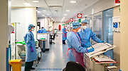 The HDU with closed cubicles became the first area of ITU to care for Covid patients. As the virus spread & Covid admissions to ITU increased, a larger ward had to be converted to care for the Covid patients.<br /><br />From my exhibition series for Betsi Cadwaladr via the Betsi Research Unit.<br /><br />My brief was not frontline action as seen on all news outlets, but the way hospitals & staff have adapted to cope with the crisis, from PPE to social distancing & also those vital behind the frontline workers essential throughout the crisis to support frontline NHS staff.<br /><br />A small touring exhibition will be open to the public when safer times permit.
