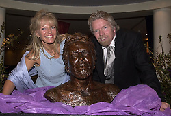 LINDY BROCKWAY and her brother SIR RICHARD BRANSON at a party in London on 30th March 2000.OCK 37© Desmond O'Neill Features:- 020 8971 9600<br />    10 Victoria Mews, London.  SW18 3PY<br /> photos@donfeatures.com  www.donfeatures.com<br /> MINIMUM REPRODUCTION FEE AS AGREED.<br /> PHOTOGRAPH BY DOMINIC O'NEILL