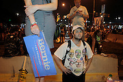 July 28, 2016-Philadelphia, PA-United States: Day 2- Anti-Hillary Clinton Protestors and Pro-Bernie Sanders supporters protest against the official nomination  of Democratic Presidential Candidate Hillary Clinton while clashing with Police during day 4 of the 2016 Democratic National Convention held at the Wells Fargo Center on July 28, 2016 in the city of Philadelphia, Pennsylvania.  (Terrence Jennings/terrencejennings.com)